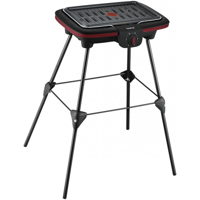 barbecue lectrique gaz sur pieds tefal cb902o12 pogioshop electr. Black Bedroom Furniture Sets. Home Design Ideas