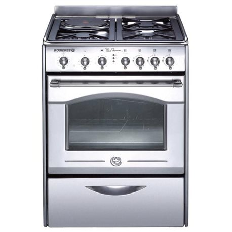Cuisini re mixte rosieres rbt60in pogioshop electrom nager moi - Cuisiniere mixte pyrolyse chaleur tournante ...