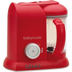 Mixeur Cuiseur BEABA BABYCOOK SOLO ROUGE