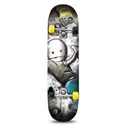 NEW NOLLIE 31X8IN SKATEBOARD ABEC 3