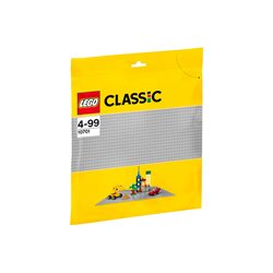 Plaque de construction grise - LEGO 10701