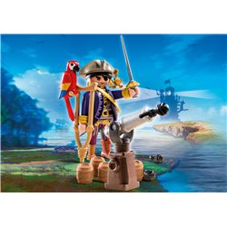 Capitaine pirate avec canon - Playmobil 6684