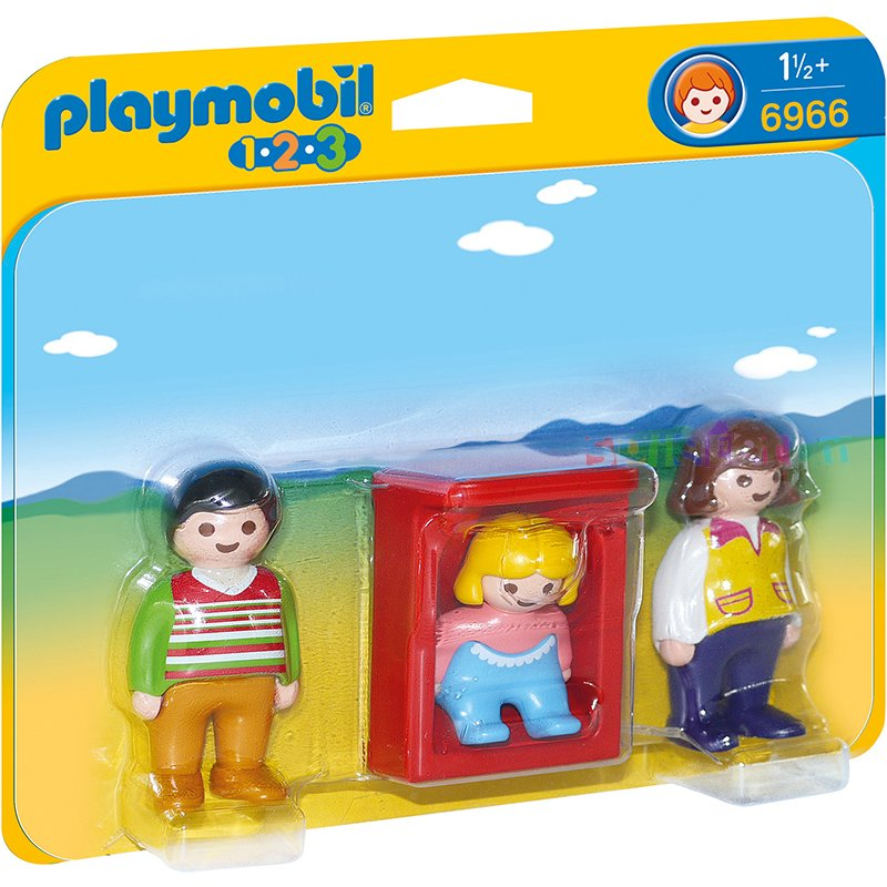 parents avec b b playmobil 6966 pogioshop jouets. Black Bedroom Furniture Sets. Home Design Ideas