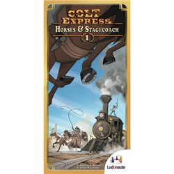 Colt Express - extension 1 - Chevaux et Diligence