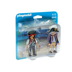 Pirate et soldat royal - Playmobil 6846