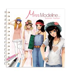 Miss Modeline, Fashion Eté 20 x 20 cm - Avenue Mandarine 62156