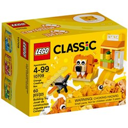 Boîte de construction orange - Lego 10709