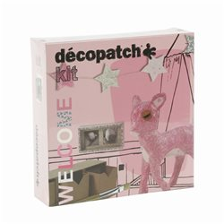 Kit Décopatch Welcome fille