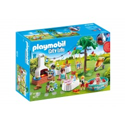 Famille et barbecue estival - Playmobil 9272