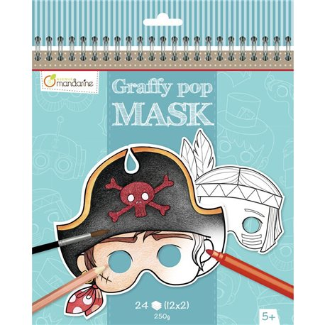 Graffy Pop Mask, Garçon - Avenue Mandarine