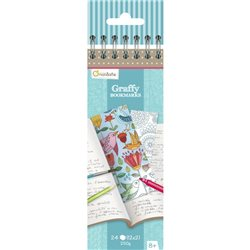Graffy Bookmark, Mandala/Fleurs - Avenue Mandarine GY038