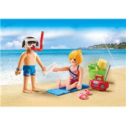 Couple de vacanciers - Playmobil 9449