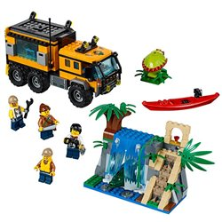 Le laboratoire mobile de la jungle - LEGO 60160