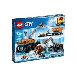 La base arctique d'exploration mobile - Lego 60195