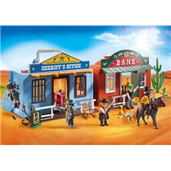 Coffret de Far-West transportable - Playmobil 70012