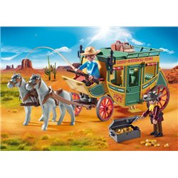 Diligence du Far-West - Playmobil 70013